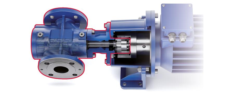 KRAL – Acoplamiento magnético 100% sin fugas.